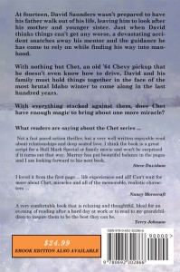 Picture of Chet: Strength Beyond Our Own, back cover